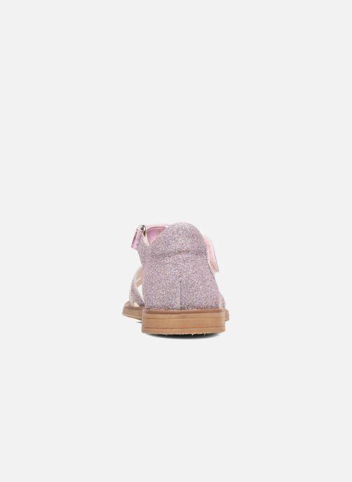 Sandales et nu-pieds Acebo's Sofia Rose vue droite