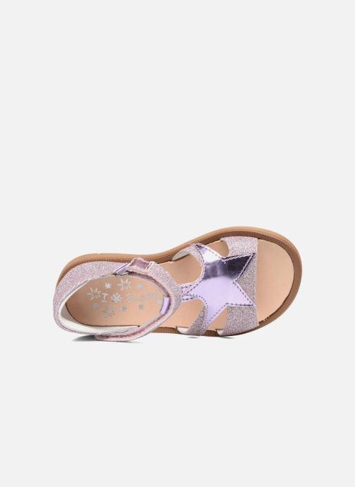 Sandales et nu-pieds Acebo's Sofia Rose vue gauche