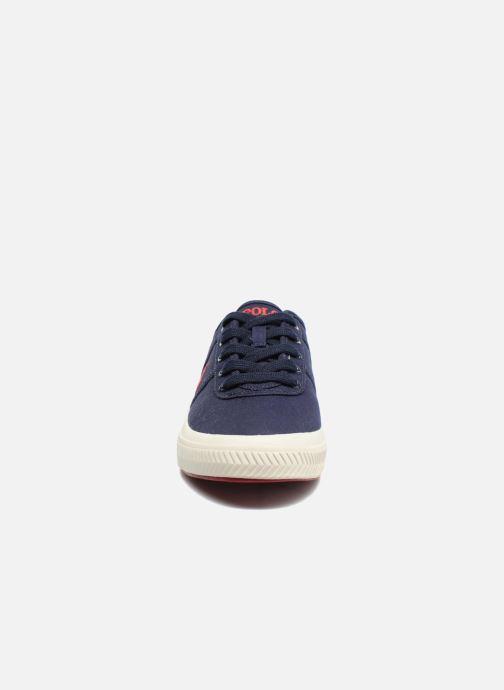 Baskets Polo Ralph Lauren Tyrian-Ne-Sneakers-Vulc Bleu vue portées chaussures