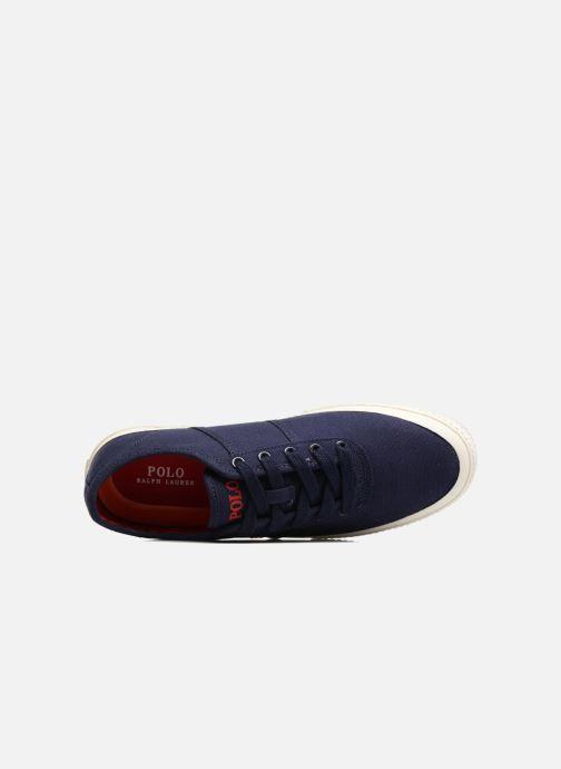 Baskets Polo Ralph Lauren Tyrian-Ne-Sneakers-Vulc Bleu vue gauche