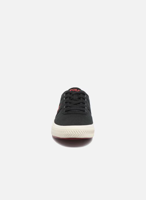 Baskets Polo Ralph Lauren Tyrian-Ne-Sneakers-Vulc Noir vue portées chaussures