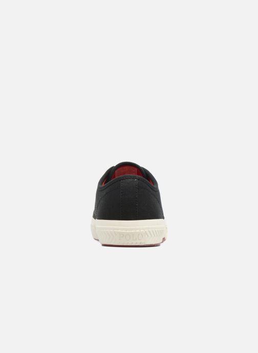 Baskets Polo Ralph Lauren Tyrian-Ne-Sneakers-Vulc Noir vue droite