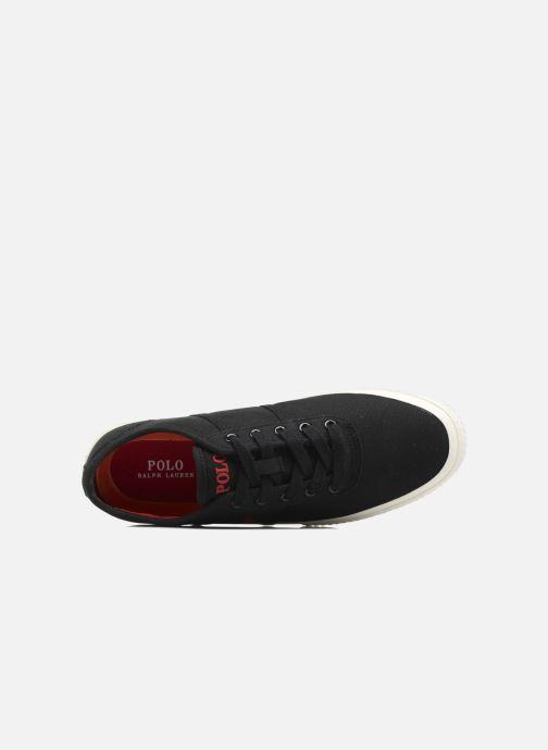 Baskets Polo Ralph Lauren Tyrian-Ne-Sneakers-Vulc Noir vue gauche