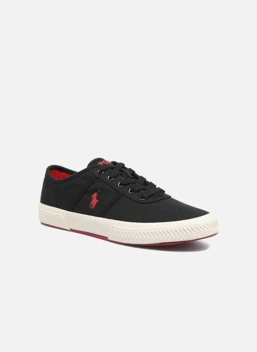 Baskets Polo Ralph Lauren Tyrian-Ne-Sneakers-Vulc Noir vue détail/paire