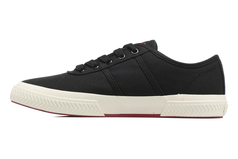 Baskets Polo Ralph Lauren Tyrian-Ne-Sneakers-Vulc Noir vue face