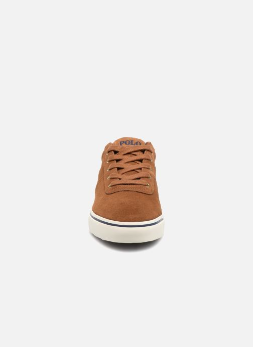Sneakers Polo Ralph Lauren Hanford-Sneakers-Vulc Marrone modello indossato