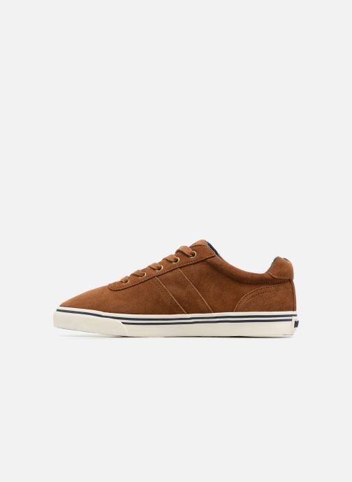 Baskets Polo Ralph Lauren Hanford-Sneakers-Vulc Marron vue face