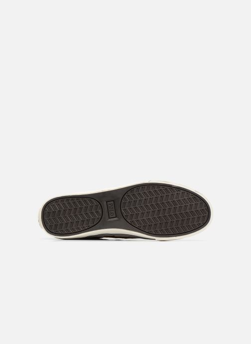 Baskets Polo Ralph Lauren Hanford-Sneakers-Vulc Marron vue haut