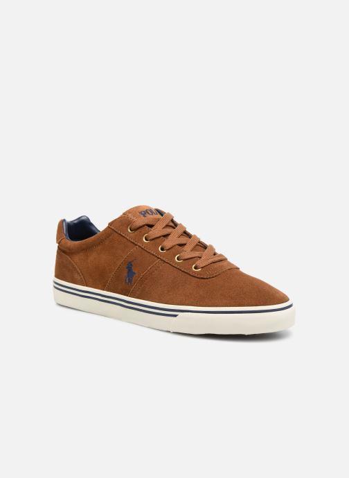 Sneakers Polo Ralph Lauren Hanford-Sneakers-Vulc Brun detaljerad bild på paret