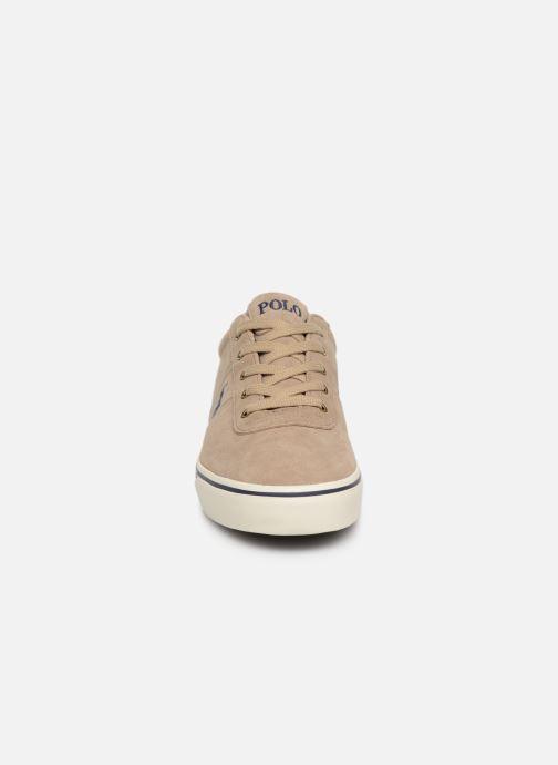 Baskets Polo Ralph Lauren Hanford-Sneakers-Vulc Beige vue portées chaussures