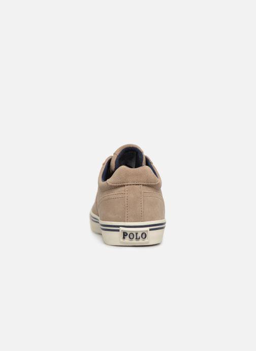 Baskets Polo Ralph Lauren Hanford-Sneakers-Vulc Beige vue droite