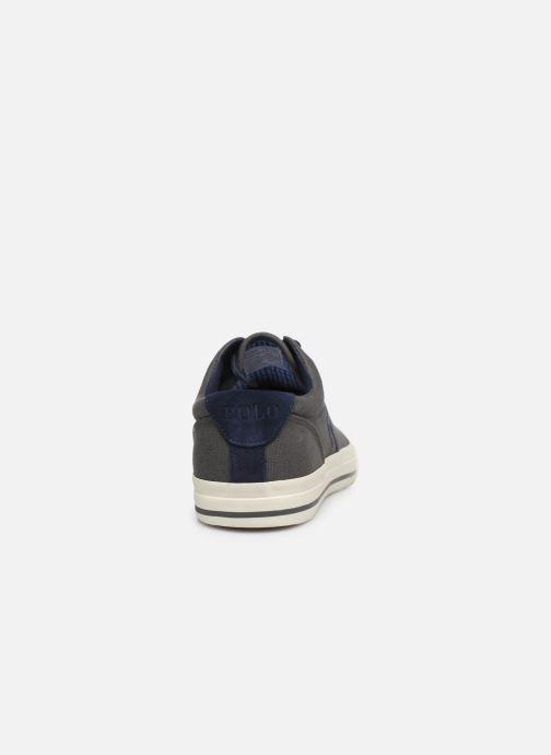Baskets Polo Ralph Lauren Vaughn-Ne-Sneakers-Vulc Gris vue droite