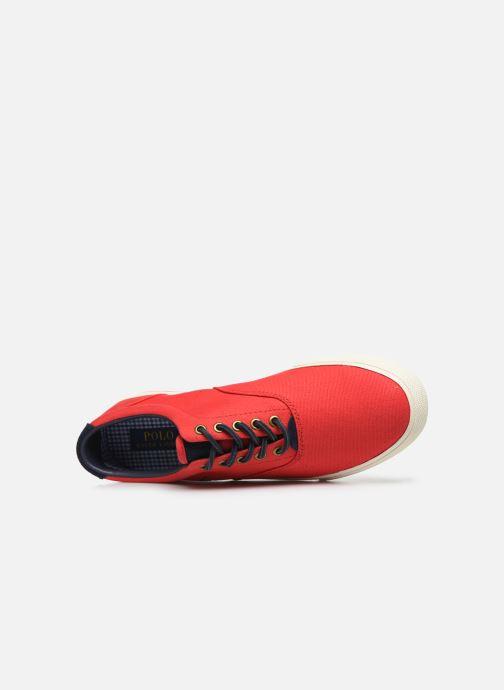 Baskets Polo Ralph Lauren Vaughn-Ne-Sneakers-Vulc Rouge vue gauche