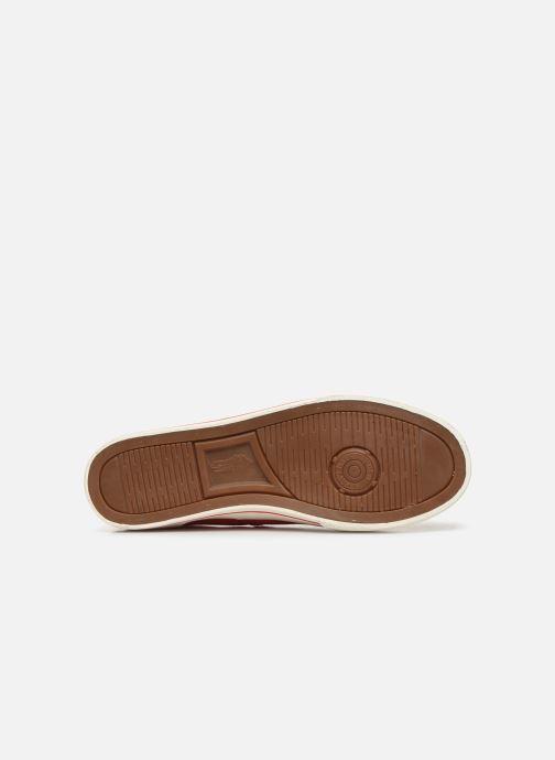 Sneaker Polo Ralph Lauren Vaughn-Ne-Sneakers-Vulc rot ansicht von oben