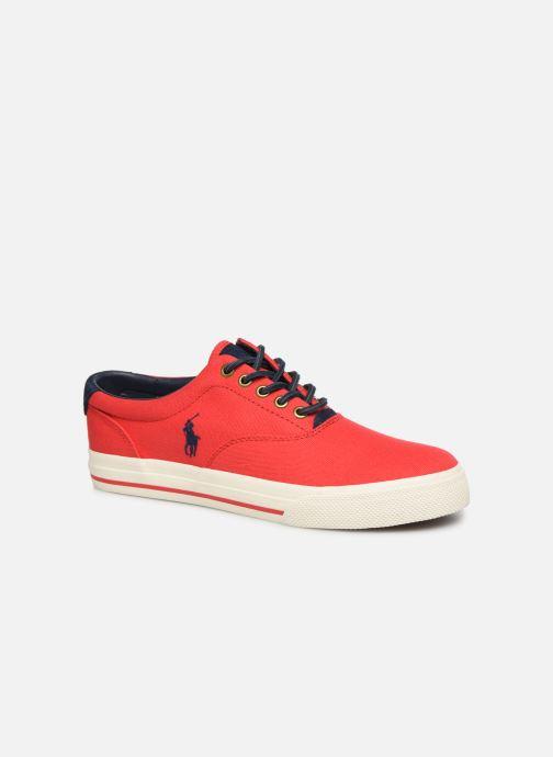 Baskets Polo Ralph Lauren Vaughn-Ne-Sneakers-Vulc Rouge vue détail/paire