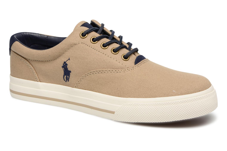 Baskets Polo Ralph Lauren Vaughn-Ne-Sneakers-Vulc Beige vue détail/paire