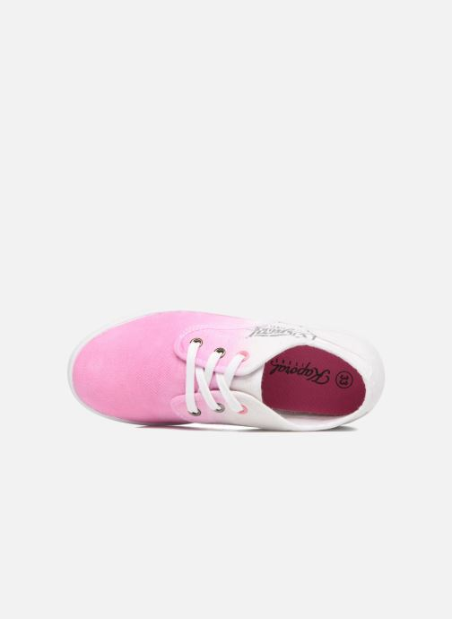Trainers Kaporal Dany Pink view from the left