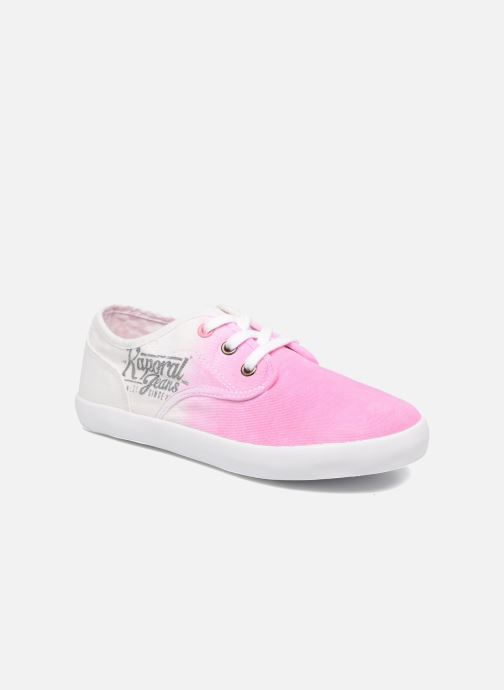 Trainers Kaporal Dany Pink detailed view/ Pair view