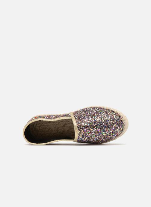 Scarpe di corda La maison de l'espadrille Sabline Glitter E Argento immagine sinistra