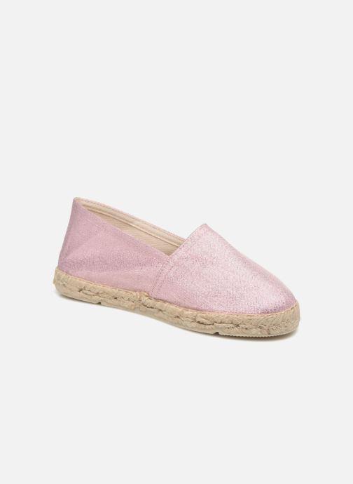 Espadrillos La maison de l'espadrille Sabline Capri E Pink detaljeret billede af skoene