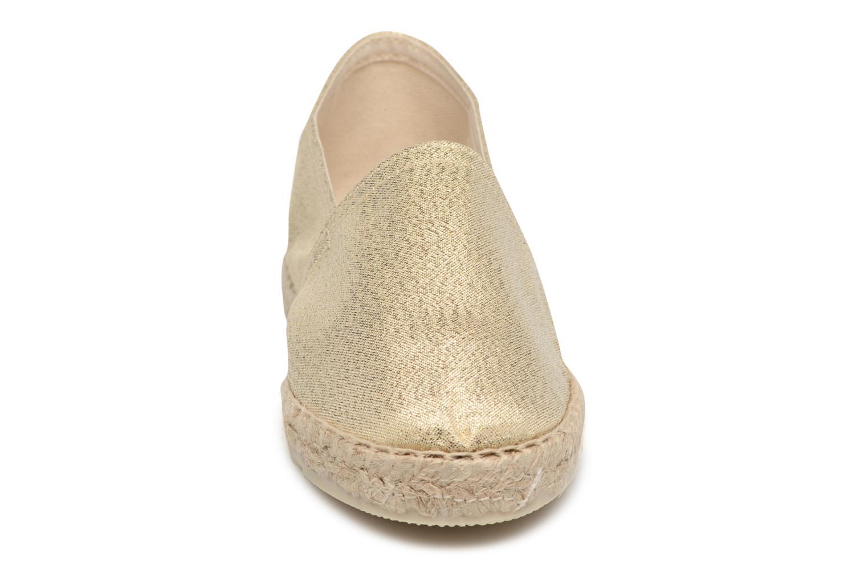 Espadrilles La maison de l'espadrille Sabline Capri E Or et bronze vue portées chaussures