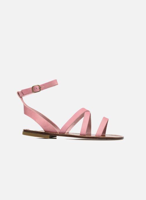 Sandales et nu-pieds PèPè Alma Rose vue derrière