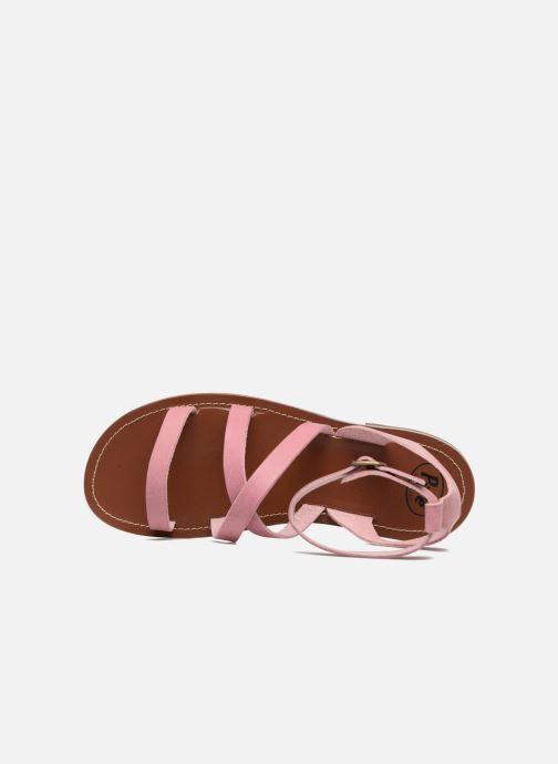 Sandales et nu-pieds PèPè Alma Rose vue gauche