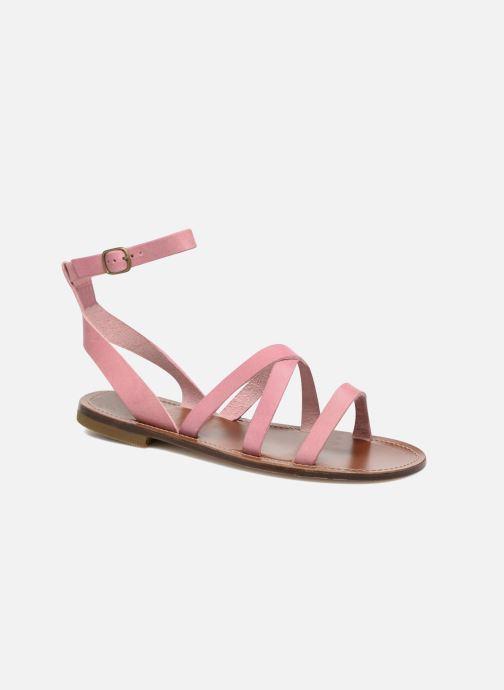 Sandales et nu-pieds PèPè Alma Rose vue détail/paire