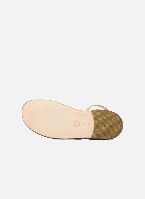 Sandales et nu-pieds PèPè Alma Beige vue haut