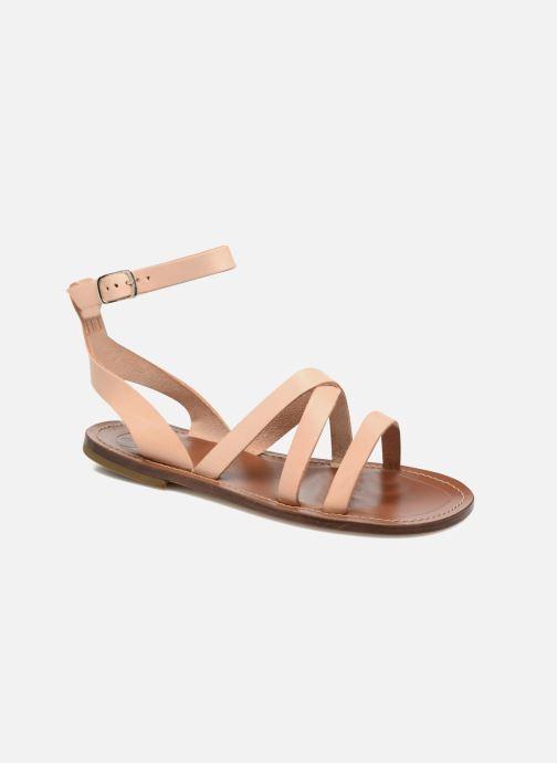 Sandales et nu-pieds PèPè Alma Beige vue détail/paire