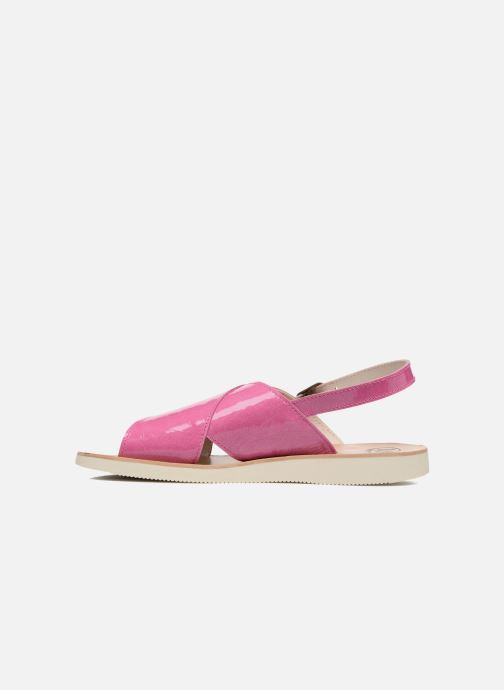 Sandales et nu-pieds PèPè Claudia Rose vue face