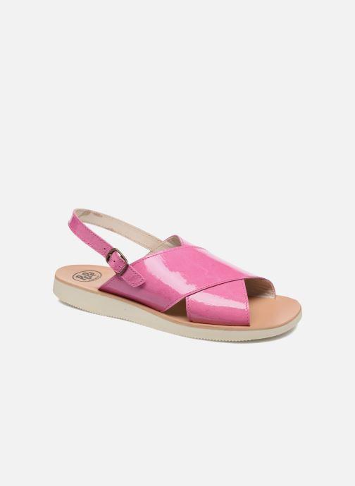 Sandales et nu-pieds PèPè Claudia Rose vue détail/paire