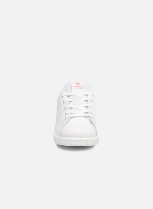 Sneakers Victoria Deportivo Basket Piel Glitter Wit model
