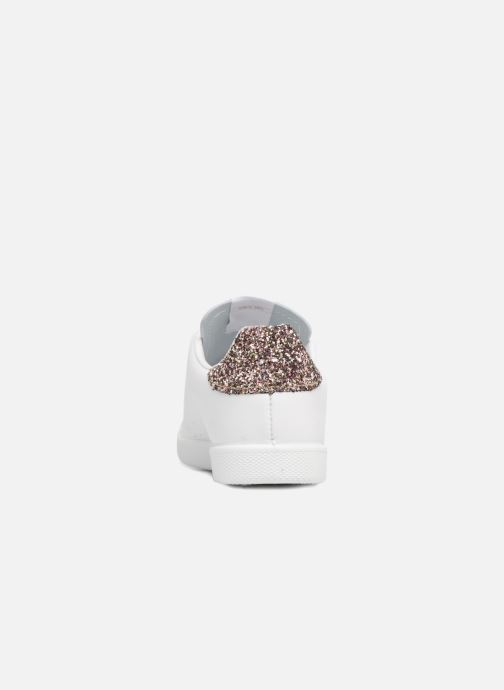 Sneakers Victoria Deportivo Basket Piel Glitter Wit rechts