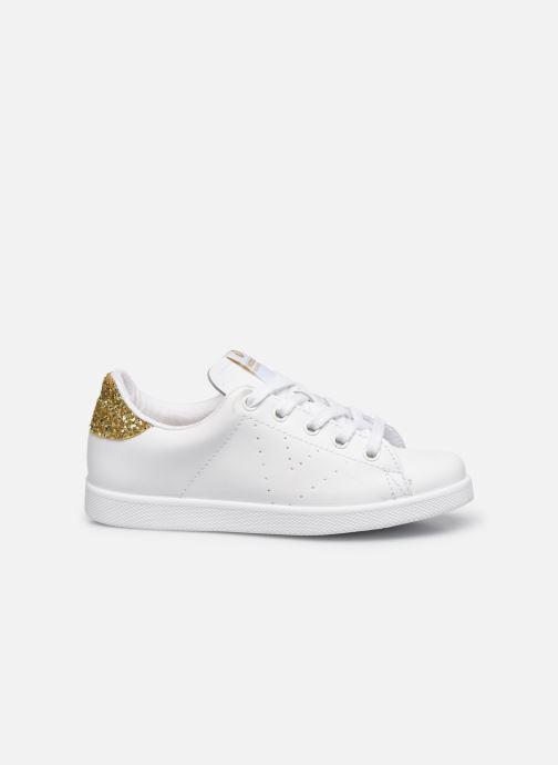 Sneakers Victoria Deportivo Basket Piel Glitter Wit achterkant