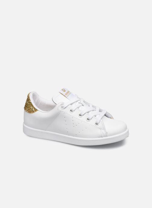 Sneakers Victoria Deportivo Basket Piel Glitter Wit detail
