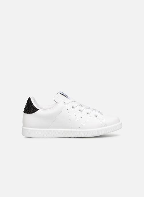 Sneakers Victoria Deportivo Basket Piel Glitter Bianco immagine posteriore