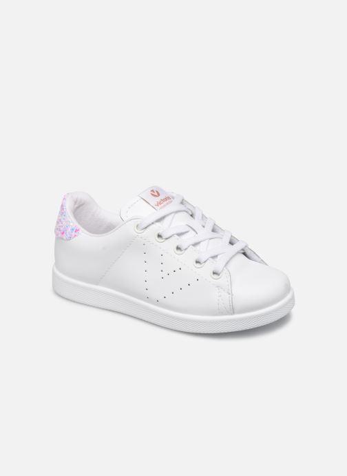 Sneakers Victoria Deportivo Basket Piel Glitter Bianco vedi dettaglio/paio