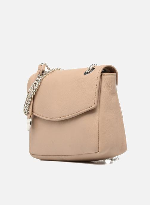 Bolsos de mano Esprit Chain leather Beige vista del modelo