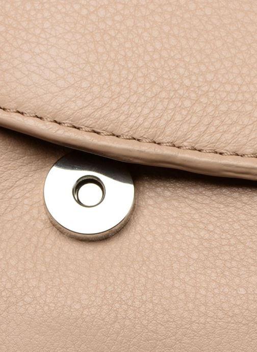 Bolsos de mano Esprit Chain leather Beige vista lateral izquierda