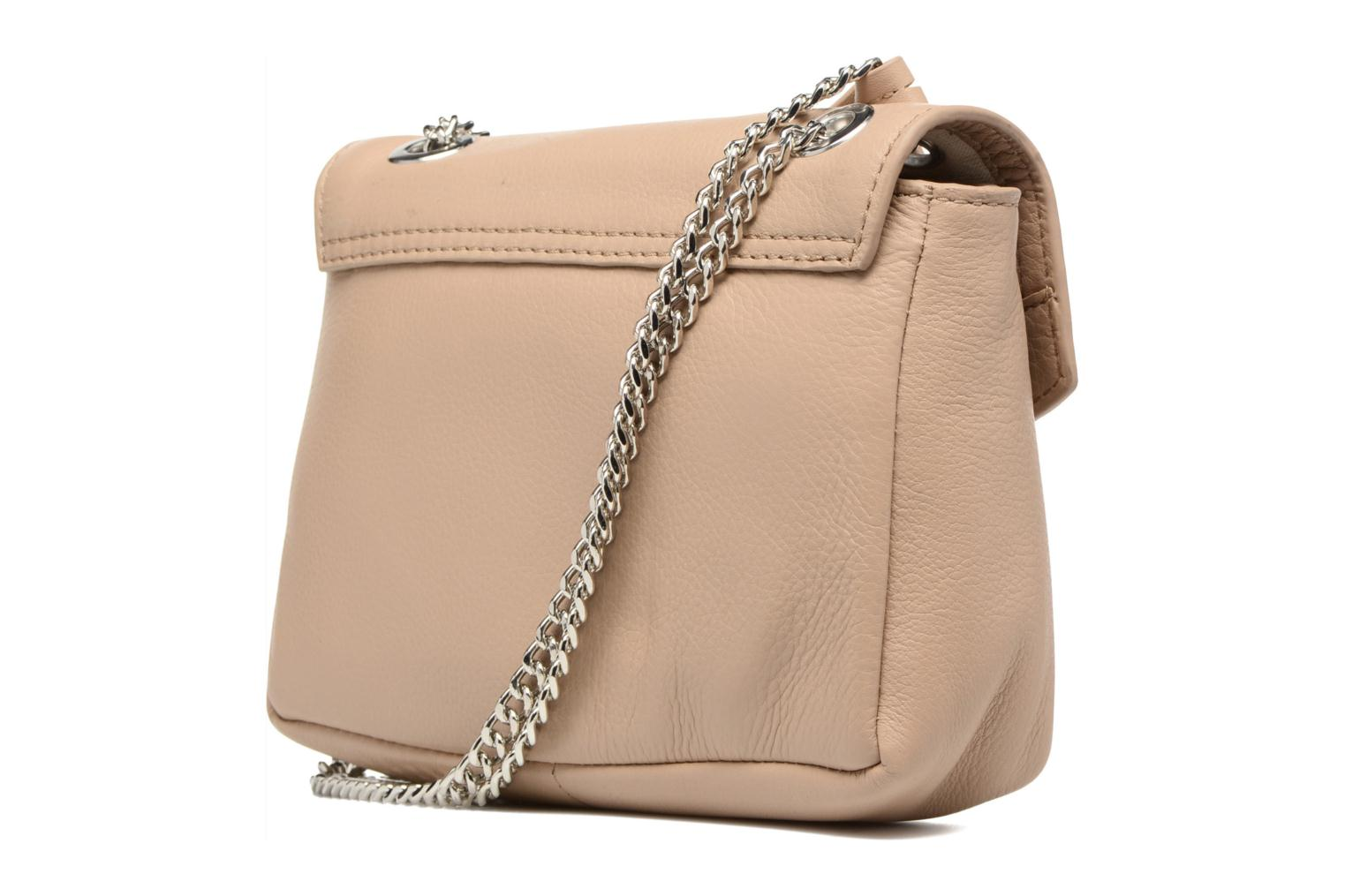 Handtassen Esprit Chain leather Beige rechts