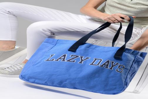 Sacs à main Esprit Paris shopper Bleu vue bas / vue portée sac
