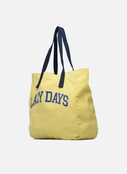 Handtaschen Esprit Paris shopper gelb schuhe getragen