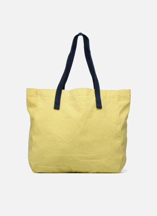 Handtassen Esprit Paris shopper Geel voorkant