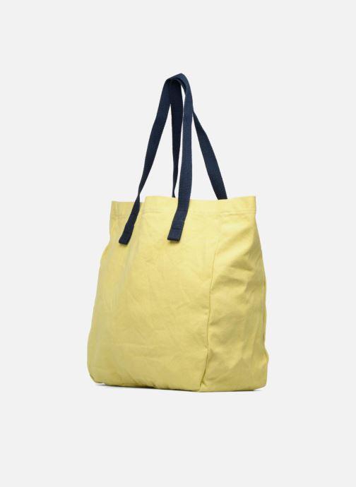 Handtaschen Esprit Paris shopper gelb ansicht von rechts