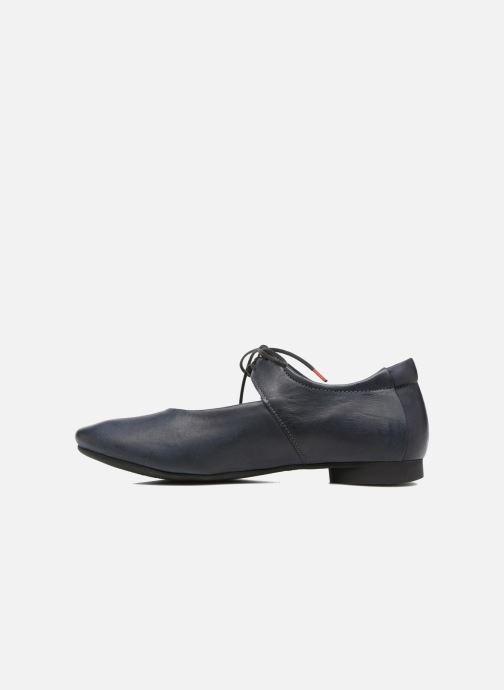 Zapatos con cordones Think! Guad 80284 Azul vista de frente