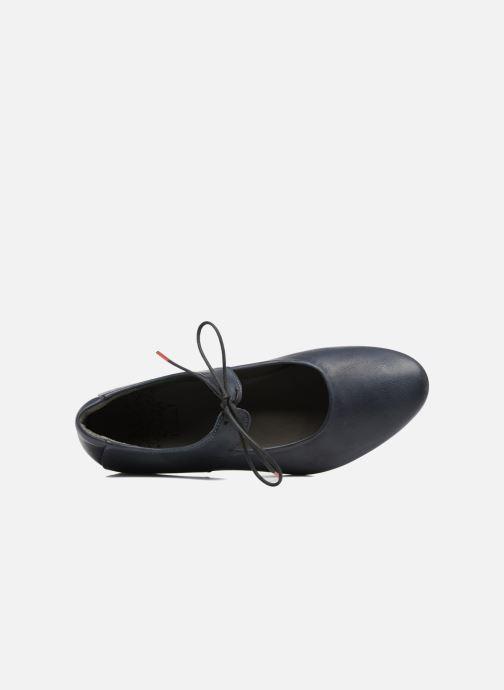Zapatos con cordones Think! Guad 80284 Azul vista lateral izquierda