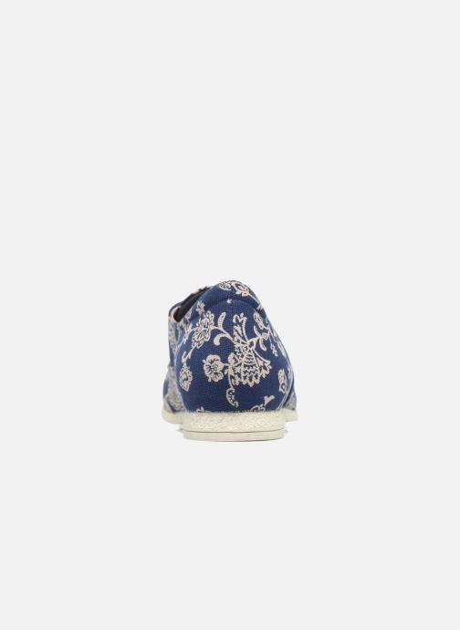 Zapatos con cordones Think! Shua 80036 Azul vista lateral derecha