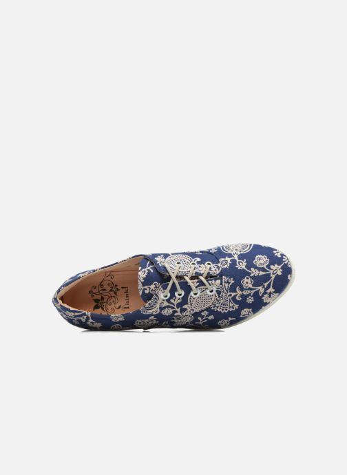 Zapatos con cordones Think! Shua 80036 Azul vista lateral izquierda