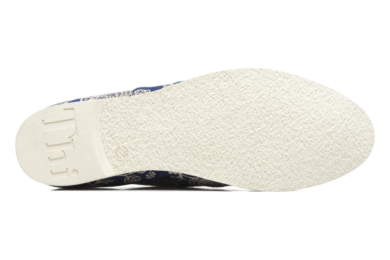Zapatos con cordones Think! Shua 80036 Azul vista de arriba